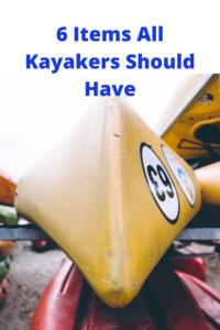 Kayaker gear