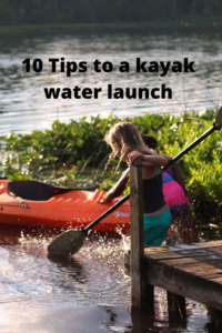Kayak water launch