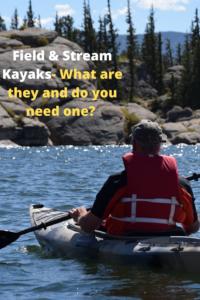 field and stream blade kayak