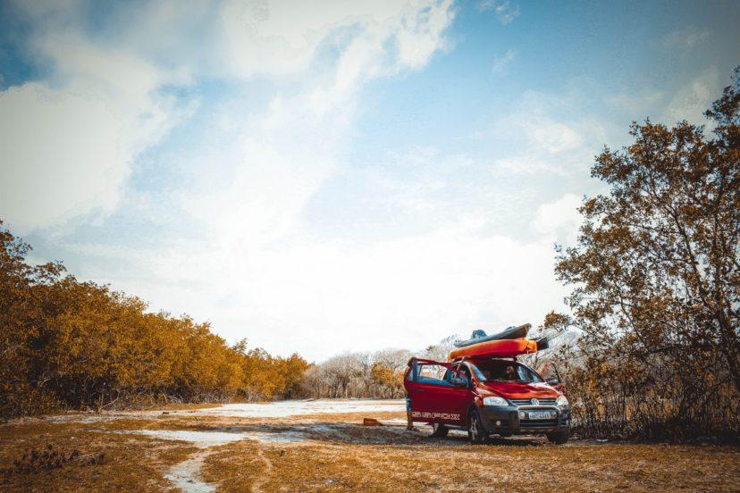 Car Hauling Kayak