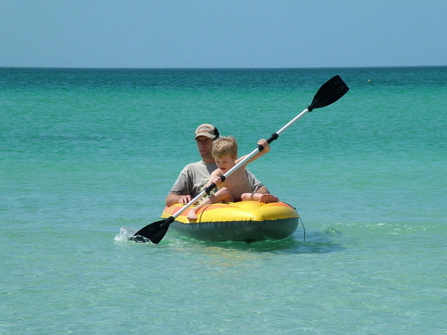 Kayaking With Child