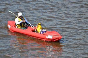 Kayak inflatable