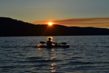 Sunset-Kayaking