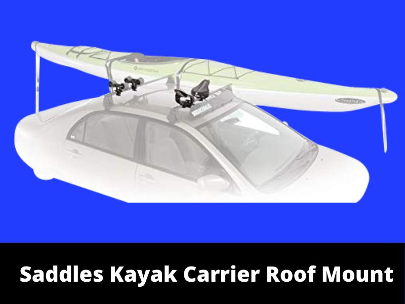 Saddle Kayak Carrier Roof Mount