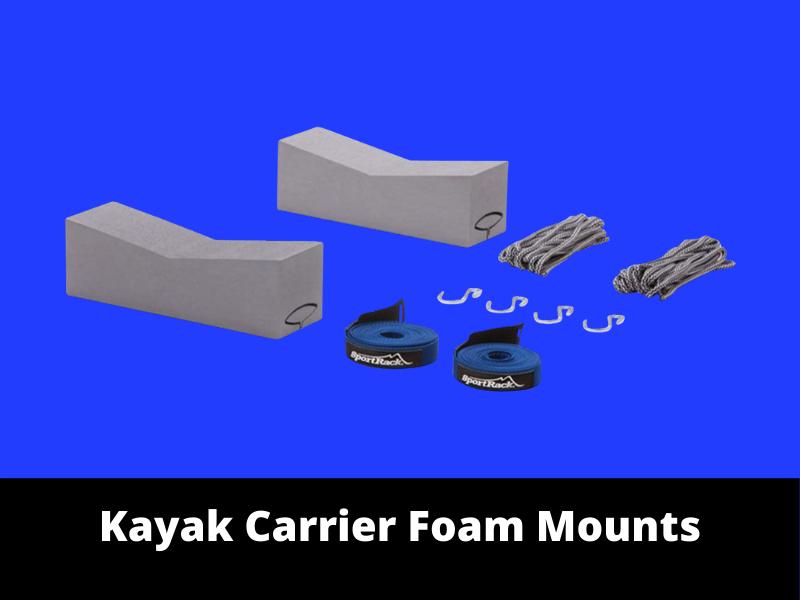 Kayak Carrier Foam Mounts