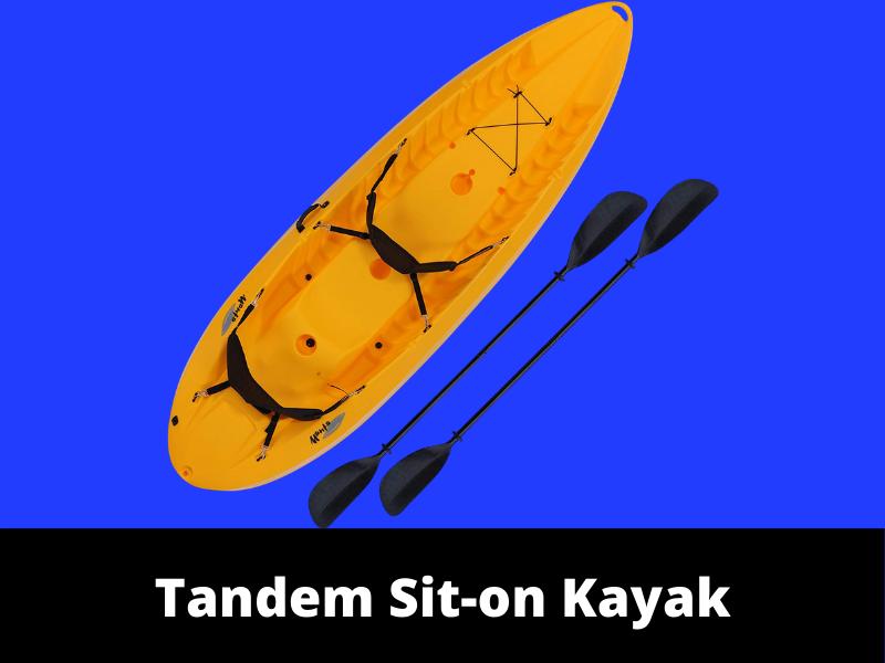 Tandom Sit On Kayak