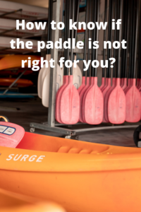 What happens if the paddle is not right for you_
