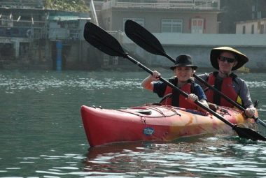 Kayaking With Child