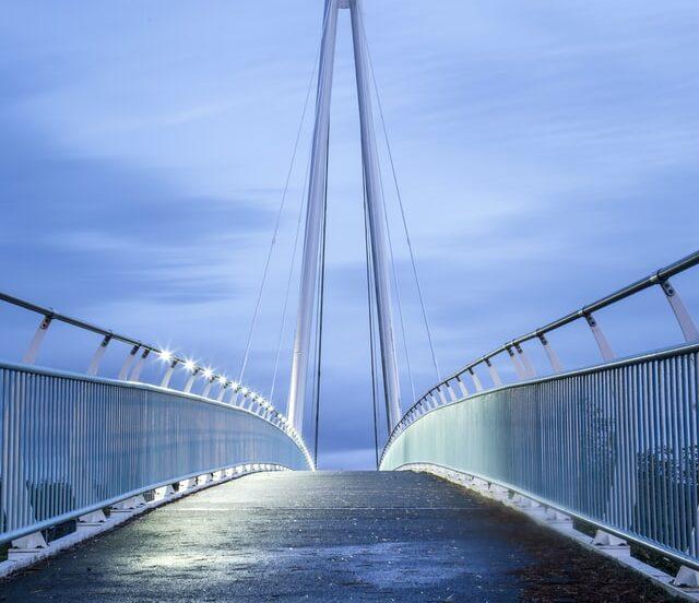Teesquay Millennium Bridge