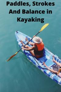 kayaking paddle strokes